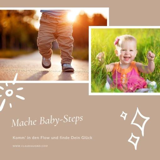 Mache Baby-Steps